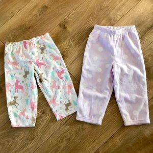 Baby Girls Deer Polka Dot Soft Sleep Pajama Pant